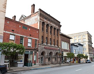 National Register of Historic Places listings in Marion County, West Virginia - Image: Fairmont Downtown Historical District