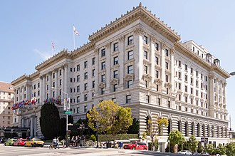 Nob Hill, San Francisco - Image: Fairmont Hotel, San Francisco