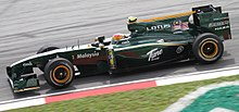 Photo de la Lotus T127 de Fairuz Fauzy à Sepang