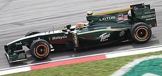 Fairuz Fauzy - Fairuz during first practice at the 2010 Malaysian Grand Prix.
