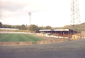 The Shay - Family Stand, before demolition