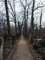 Farkasréti Jewish cemetery. Main road (S). - Budapest.JPG