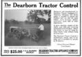 Farm Mechanics 1922 June Dearborn Tractor Control advert.png