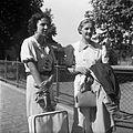 Fashion, suitcase, women Fortepan 19810.jpg