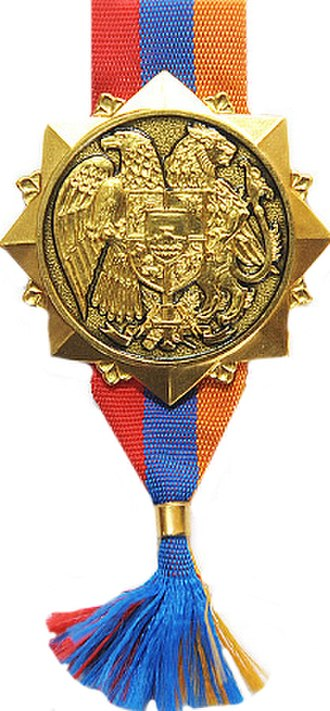 Orders, decorations, and medals of Armenia - Order of Fatherland