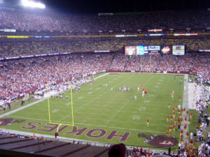 2003 Insight Bowl - Virginia Tech played in the 2004 BCA Classic, the first game of the 2004 season, at FedExField in Landover, Maryland.