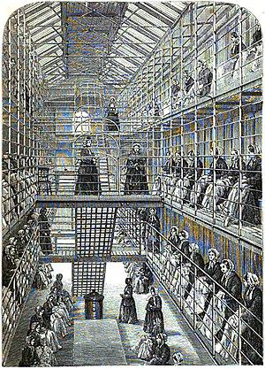 HM Prison Brixton - Brixton Women's Prison in 1862