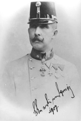 Archduke Ferdinand Karl of Austria - Image: Ferdinand Karl Austria 1868 1915 photo 1901