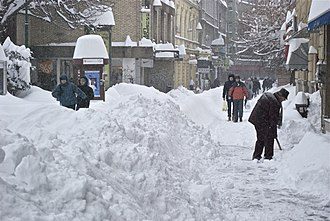 Early 2012 European cold wave - Record snowfall in Sarajevo