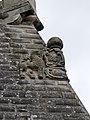 Festung Rosenberg - Bastion St. Kunigunde - Rieneck-Wappen linke Seite.jpg