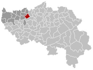 Fexhe-le-Haut-Clocher - Image: Fexhe le Haut Clocher Liège Belgium Map