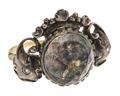 Fingerring med Jesusfigur av guld och silver med diamanter, 1700-tal - Hallwylska museet - 110250.tif