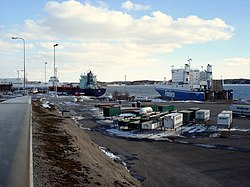 Naantalin satama - Wikipedia