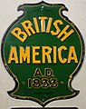 Fire Mark for British American Assurance Company in Toronto, Ontario, Canada.jpg