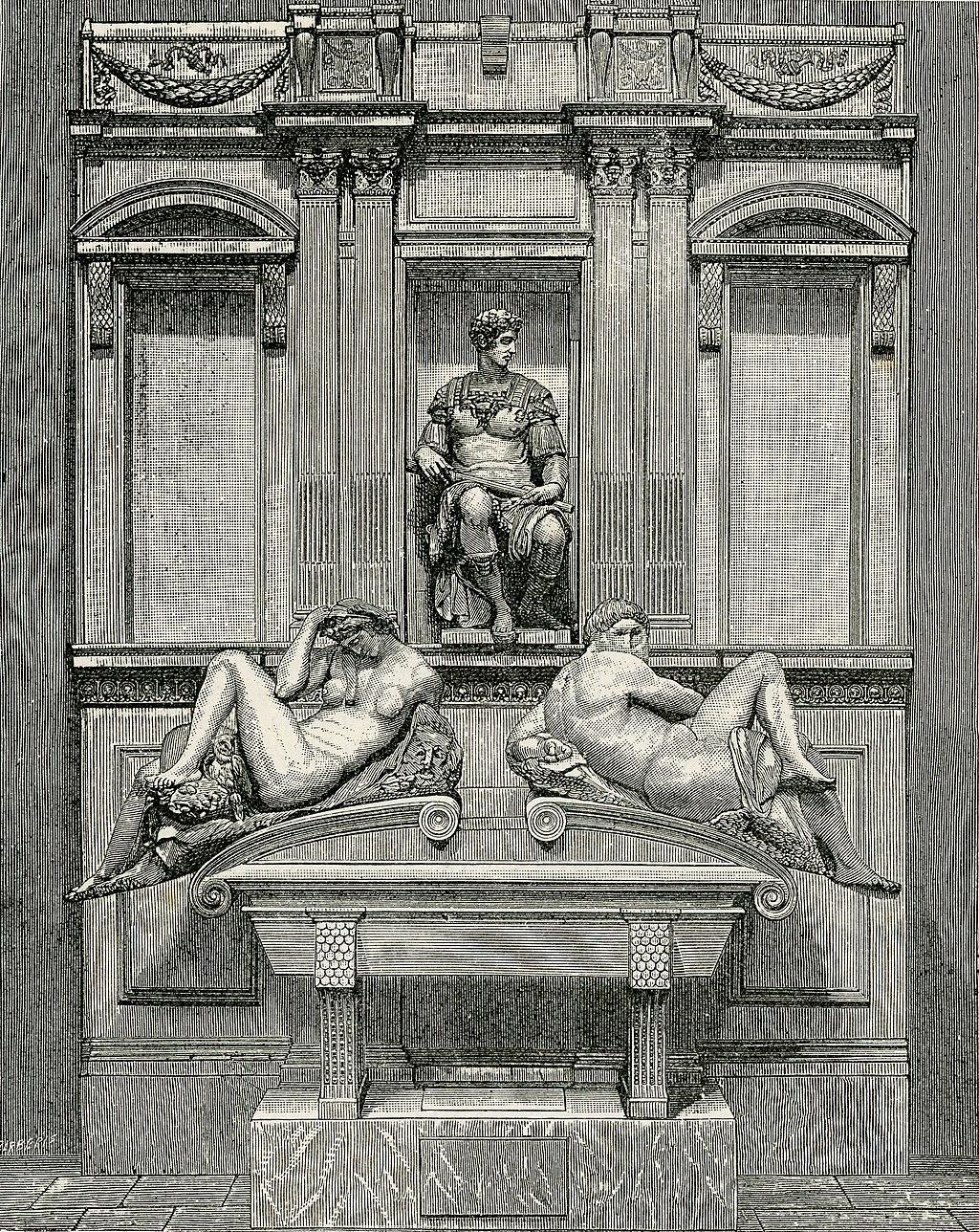 Firenze Monumento a Giuliano