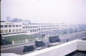 Firestone Tyre Factory - 1963 view of the factory