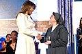 First Lady Melania Trump Presents the International Women of Courage Award to Sister Carolin Tahhan Fachakh of Syria (33338550750).jpg