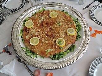 Pastilla - Fish pastilla in Beni Mellal