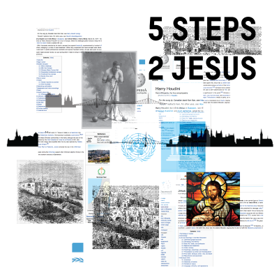 Five steps to jesus graphic