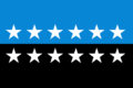 Flag of the European Coal and Steel Community 12 Star Version.png