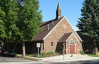 First Baptist Church (Flagstaff, Arizona) - Image: Flagstaff First Baptist Church from SE 1