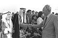 Flickr - Government Press Office (GPO) - P.M. Shimon Peres shaking hands with Bedouin sheiks.jpg