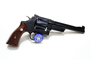 Smith & Wesson .38/44 - Image: Flickr ~Steve Z~ S^W Pre Model 23 .38 Spl