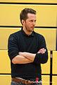 Floris Völkner Trainer BHC Damen Viertelfinale Halle gegen Mannheimer HC Februar 2013.jpg