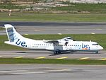 Flybe Nordic ATR 72-500 OH-ATP at HEL 05JUN2015 01.JPG