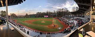 Foley Field Baseball park at University of Georgia