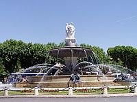 Fontaine de la Rotonde - Aix-en-Provence.JPG