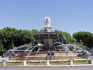 Cours Mirabeau - La Rotonde on Cours Mirabeau