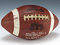 Football signed by 1975 Framingham State College Rams (1988.369).jpg