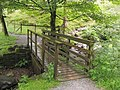 Footbridge at the Foot of Tom Gill - geograph.org.uk - 1735513.jpg