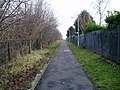 Footpath from Magazine Road to Stadium Road - geograph.org.uk - 1766780.jpg