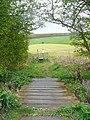 Footpath off Gawthorpe Lane, Gawthorpe - geograph.org.uk - 1243763.jpg