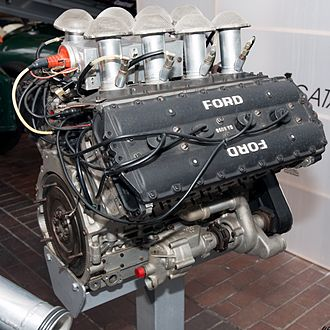 Romano WE84 - Image: Ford Cosworth DFV rear right National Motor Museum, Beaulieu