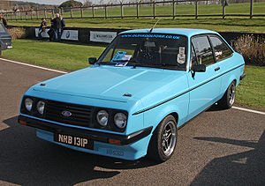 Ford Team RS - 1976 Ford Escort RS2000 Mk II