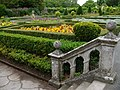 Formal garden, St Fagans Castle - geograph.org.uk - 524419.jpg