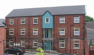 South Elmsall - The former mill, now modern housing