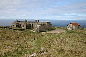 Cape Wrath - Former Lloyds signal station, Cape Wrath