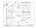 Fort Spokane, Stable Barn, Lincoln, Lincoln County, WA HABS WASH,22-LINC.V,1G- (sheet 4 of 5).png