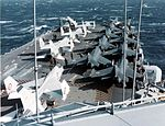 Forward flight deck of French carrier c1970s.jpeg