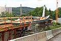 Foto-Denkmal (Reihe, wird fortgsetzt) Verlegung B173 in Flöha, ...Fußgängerbrücke - panoramio (2).jpg