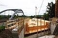 Foto-Denkmal (Reihe, wird fortgsetzt) Verlegung B173 in Flöha, Brückenbauwerk 4, Schalarbeiten - panoramio.jpg