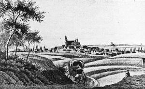 Oschatz - Oschatz in 1830