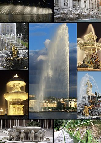 Fountain - Image: Fountains Collage