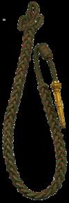Fourragère aux couleurs de la Croix de guerre 1914-1918