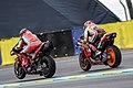 Francesco Bagnaia and Stefan Bradl 2020 Le Mans.jpg