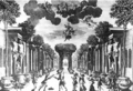 Francesco Cavalli - Ercole amante - act 3, scene 1 - stage setting by Carlo Vigarani - 1662.png